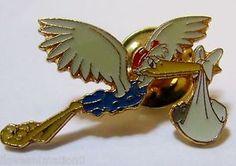 Disney Pin 5398 DS Dumbo 55th Anniversary Commemorative Stork & Baby Dumbo Pin   eBay