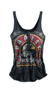 American Legion Harley-Davidson Tank | rumbleon.com| #rumbleON #harley #tank #women #fashion #bikerstyle #bikerchic