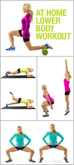 Here are the best lower body exercises that will have you tight and toned for summer! #workout