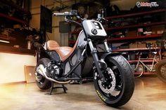 Yamaha T-Max Hyper-Modified