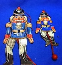 Vintage Wooden Jumping Jack Nutcrackers