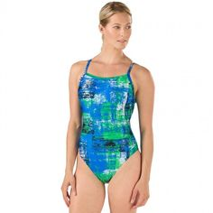 163a86c5c5803 Speedo Splatter Chatter Women's Flyback. Summer SuitsSwimmingOne  PieceSportsSwimwearFashionCompetitionSwimHs Sports