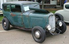 rat rods   1932 Ford Sedan Rat Rod