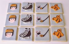 Hockey cookies by Be Sweet by Maria