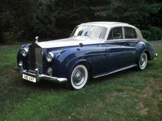 1960 Rolls Royce Silver Cloud...He SPOILS me so. I had no idea this will be waiting for me...when we return.