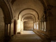 France, Bouches-du-Rhône, Abbaye de Montmajour