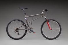 Ibis Bow-Ti  c. 1997; Ibis Cycles; Mendocino 1981–83, Sebastopol 1984–98, Santa Rosa 1998–2001, Santa Cruz 2005–present; On loan from Aaron Singer, Seaplane Adventures; L2012.0613.001