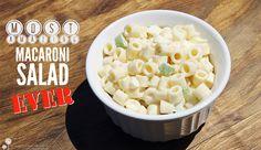 Most Amazing Macaroni Salad Ever