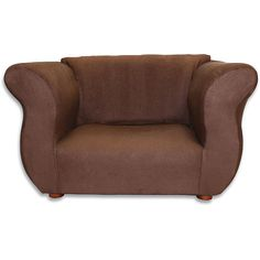 "Fantasy Furniture Fancy Chair - Brown Microsuede -  Fantasy Furniture - Toys""R""Us $99.99"