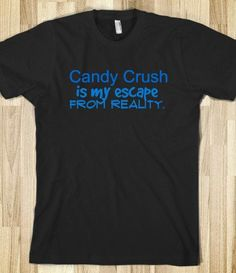 candy crush & reality
