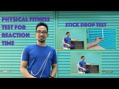 PHYSICAL FITNESS TEST FOR REACTION TIME   STICK DROP TEST - YouTube