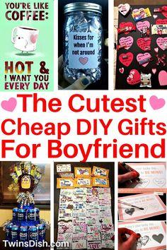 Diy Valentine Gifts For Boyfriend, Handmade Valentine Gifts, Diy Valentines Day Gifts For Him, Handmade Gifts, Small Gifts For Boyfriend, Homemade Gifts For Boyfriend, Diy Gifts Cheap, Thoughtful Gifts For Him, Gift Ideas