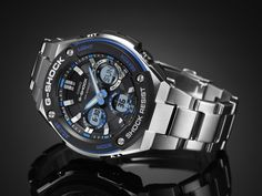 Layered Bezel Structure - New way of shock resistant structure installed for G-STEEL achieves new metal approach of G-SHOCK!