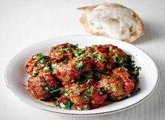 Gordon Ramsay's meatballs in tomato sauce. Sorry for the link to the Daily Fail, but these were great.