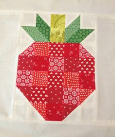 Skyberries Handmade: Strawberry Block - A Tutorial