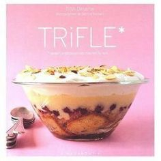 trifle rhubarbe / chantilly chocolat blanc => bon