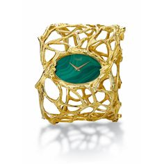 Vintage 1970s Piaget Malachite 18K watch