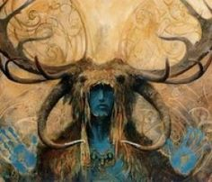 Irish Gods and Goddesses List and Descriptions…….   this is the Horned God