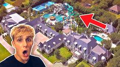 2018 lamborghini jake paul. perfect 2018 jake paul  this house has a 10m dollar backyard waterpark intended 2018 lamborghini jake paul u