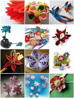 Kimono Reincarnate: Flickr Faves on a Friday - Kanzashi Inspiration