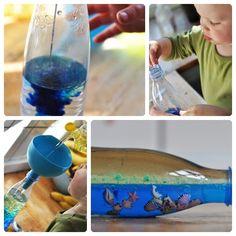 Experimento infantil: Cómo hacer un mar dentro de una botella