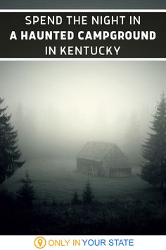 Spend a night at the most haunted campground in Kentucky. This spooky spot has a host of ghosts and paranormal activity including the spirits of soldiers and century-old vampires. Check it out if you're feeling brave! Travel Stuff, Time Travel, Us Travel, Travel Tips, Most Haunted, Haunted Places, Weekend Trips, Day Trips, Kentucky Camping