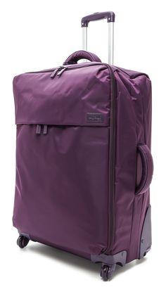 lipault paris luggage 4 wheeled purple - Google Search