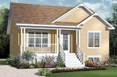 Gracias a nuestros colegas de Fachadas-Casas.com les presentamos una selección de preciosas casas muy sencillas y minimalistas que tantos han escogido por