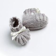 Chaussons bébé / Explications tricot en par LittleFrenchKnits