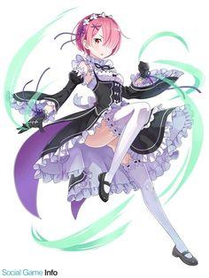 Ram (Re:Zero) - Re:Zero Kara Hajimeru Isekai Seikatsu - Image - Zerochan Anime Image Board Ram And Rem, Re Zero, Kawaii Anime Girl, Light Novel, Manga, Another World, Aesthetic Anime, Anime Characters, Image Boards