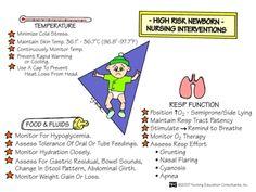 High Risk Newborn Nursing Interventions #nursing