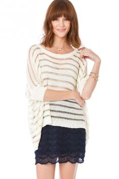 Sherene Striped Sweater