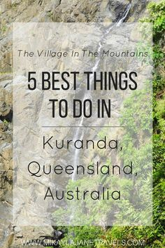 Best Things To Do In Kuranda, Queensland, Australia | What To See in Cairns | Best Eats in Kuranda | The Village In The Mountains | #traveltips #traveltipsforaustralia #australia #travelaustralia #queenslandaustralia | Best destinations in Australia | Travel tips for Australia | www.mikaylajanetravels.com
