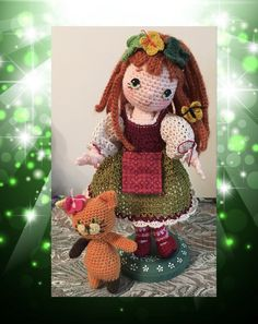 https://flic.kr/p/JZxU6y | Geillis, shamrocks and butterflies | My all time favorite pattern by my dear friend Beth Webber. She is fully jointed and I love that about this pattern. Pattern can be found here byhookbyhand.blogspot.com/search/label/Bleuette ♡ lovely doll