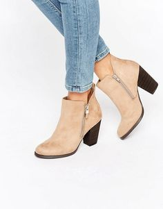 Call it Spring | Call It Spring Kokes Zip Heeled Ankle Boots