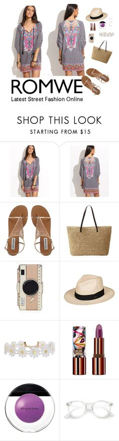 """""""Untitled #6"""" by lejla-becirovic on Polyvore featuring Kate Spade, Roxy, Humble Chic, Teeez and Elizabeth Arden"""