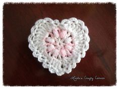 Ravelry: Sweet Lacy Hearts pattern by Linda Solaiman