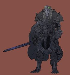 Duskcrest the Saurian. He is a slayer for the Hunter's Honor, the famous beast hunters who are based out of Molthaven.