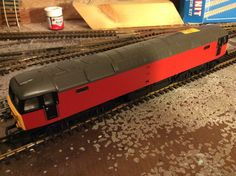 Class 47 by Hornby, needs rewiring , only £12.50 Acquired 13/06/15 Medway This is now Northern Belle