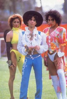 Prince with Shiela E. & Cat