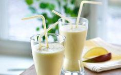 Smoothie med mango Mango giver et sydlandsk pift til din smoothie.