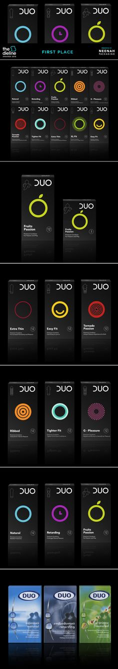 The Dieline Awards 2016: DUO condoms- mousegraphics — The Dieline | Packaging & Branding Design & Innovation News