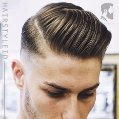 """Hair Style ID on Instagram  """"Side Part Hairstyle - Bagian samping yang  terlihat bagus dari gaya rambut pria. Untuk mendapatkan tampilan ini 1666c3d039"""