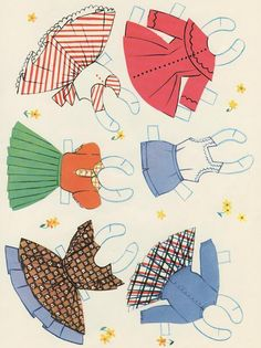 Dainty Dollies, A Paper Doll Book, 1950s Saalfield/Artcraft #1741 (2 of 10) | Bobe Green | Picasa Web Albums