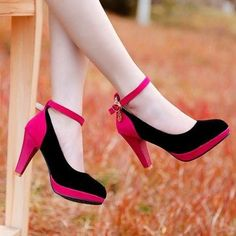 Stylish Color Block and Ankle Strap Design Pumps For Women   #fashion #fashionista #fashionlove #FindMyStyle #followme #beauty #shopping #glam #divastyle #girlystyle #heels #killerstyle #newstuff #pretty #prettyfashion #style #styleme #stylemepretty #stylish #shoes #timelessstyle #walkingpretty #womenofstyle