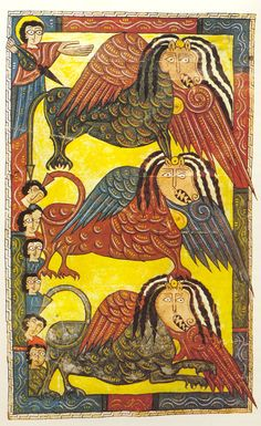 "The Escorial Beatus is a 10th century illuminated manuscript of the Commentary on the Apocalypse by Beatus of Liébana""  Apollo-WordVirusBlogspot"