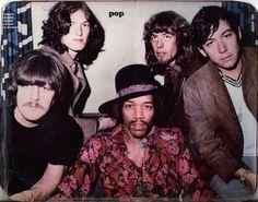 Carl Wayne, Steve Winwood, Jimi Hendrix, John Mayall, and Eric Burdon. WOW!
