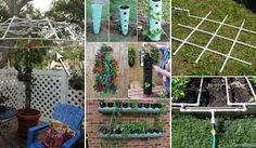 Image result for clever fun garden hacks
