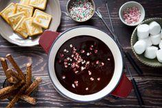 Chocolate Peppermint Fondue & Swissmar Giveaway