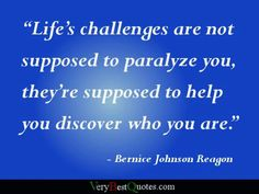 Challenge - Persevere - Discover